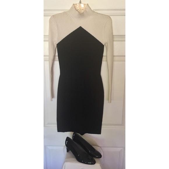 cdb41861f9 Ann Taylor Dresses   Skirts - Ann Taylor ribbed mockneck sweater dress